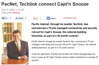 Pacnet and Techlink partner in Private Network Rollout